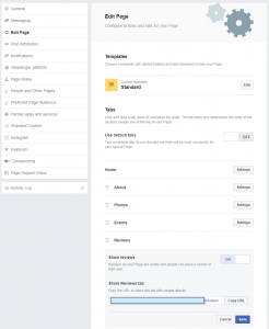 How to add reviews to your Facebook page